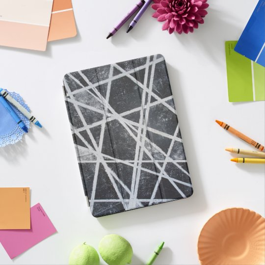 White Lines Black Spaces Cool Abstract Ipad Air Cover
