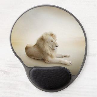 White Lion Gel Mouse Pad