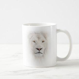 White Lion Head Classic Mug