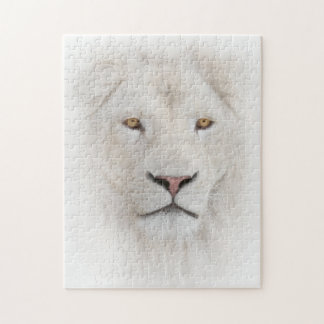 White Lion Head Puzzle