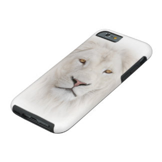 White Lion Head Tough iPhone 6 Case