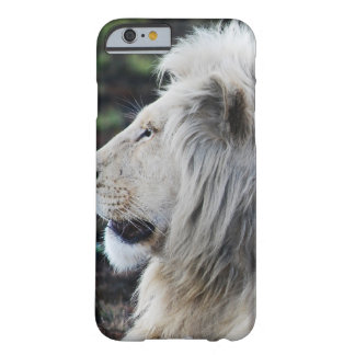 White Lion in repose Barely There iPhone 6 Case
