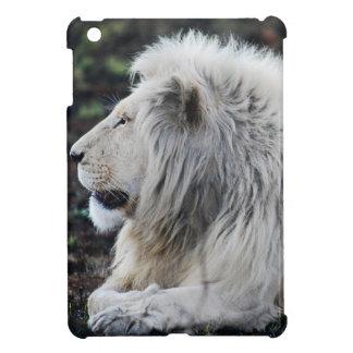 White lion in repose iPad mini case