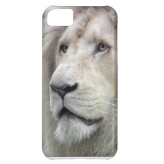 White lion iPhone 5C cover