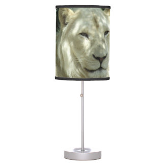 White Lion Table Lamp