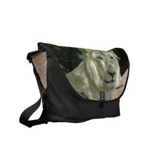 White Lion Messenger Bag