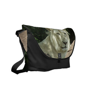 White Lion Messenger Bags