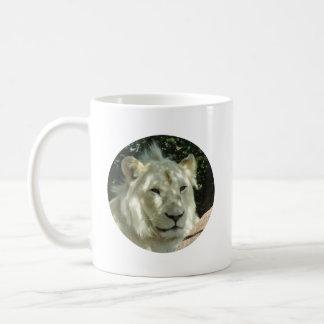 White Lion Classic White Coffee Mug
