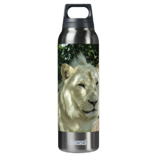 White Lion 16 Oz Insulated SIGG Thermos Water Bottle
