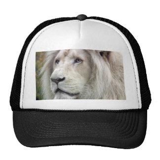 White lion trucker hat