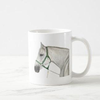White Lipizzaner Horse Coffee Mug