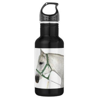 White Lipizzaner Horse 18oz Water Bottle