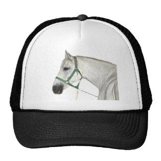White Lipizzaner Horse Trucker Hat