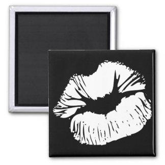 White Lips Magnet