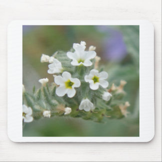 White little stars mouse pad