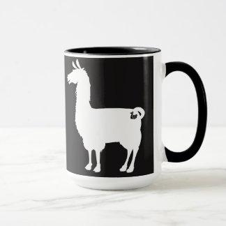 White Llama Mug