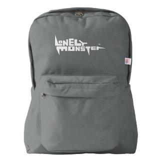 White Logo Backpack