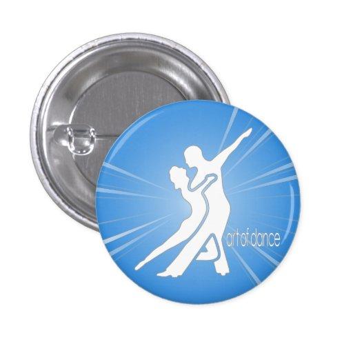 White Logo Round Button