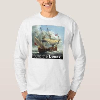 White Long-Sleeved Mens T T-Shirt