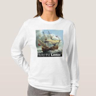 White Long-Sleeved Womens T T-Shirt