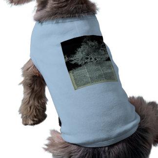 White Lonley Tree Dictionary Art Shirt
