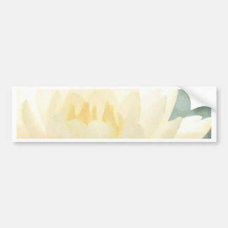 White Lotus Bumper Sticker