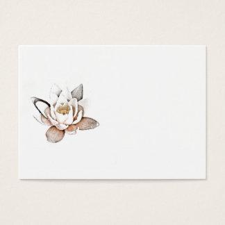 WHITE LOTUS BUSINESS CARD
