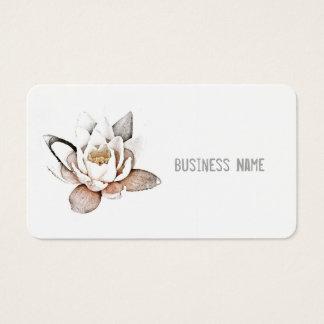 """WHITE LOTUS"" BUSINESS CARD"