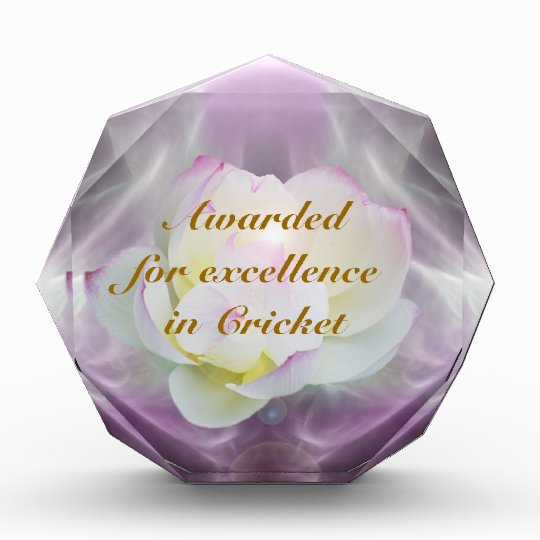 White lotus cricket award