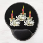 White Lotus & Deepas Gel Mouse Pad