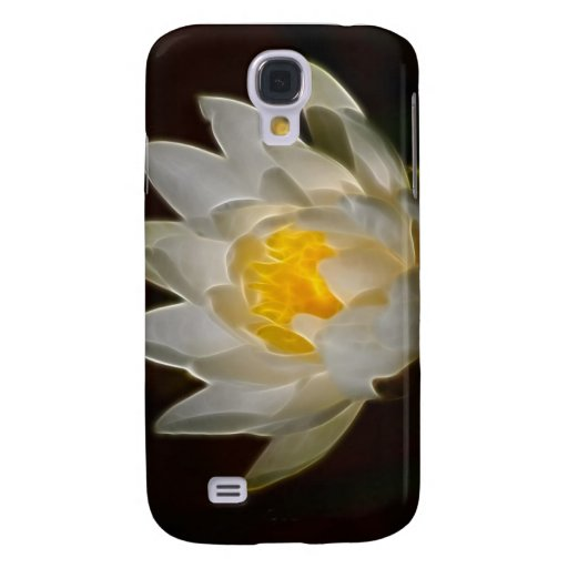 White Lotus flower and meaning Samsung Galaxy S4 Cover
