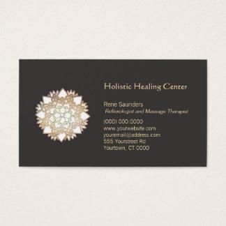 White Lotus Holistic Healing Arts Business Card