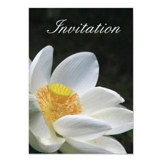 White Lotus Invitation