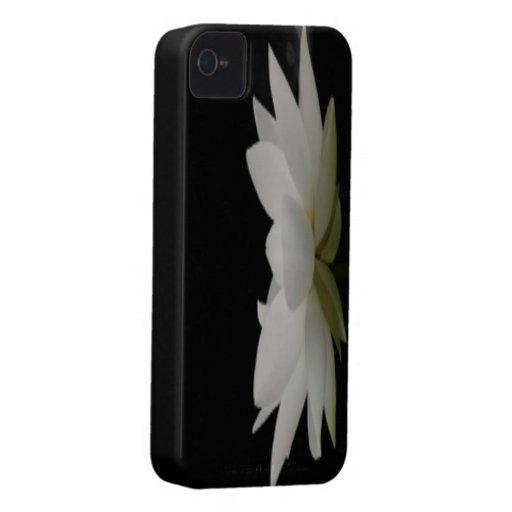 White Lotus iPhone 4 Case-Mate Cases
