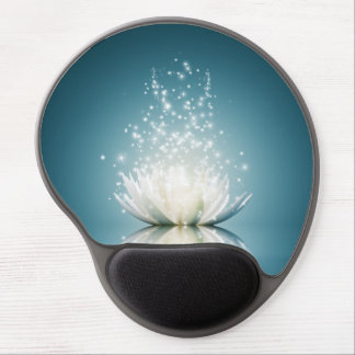 White Lotus Magic Gel Mouse Pad