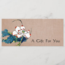 White Lotus Massage Therapist Gift Certificate