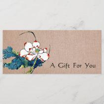 White Lotus Massage Therapist Gift Certificate