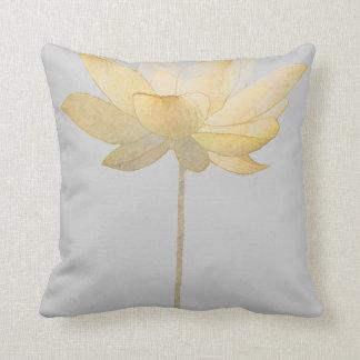 White Lotus Pillow