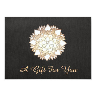 White Lotus Salon and Spa Gift Certificate Card
