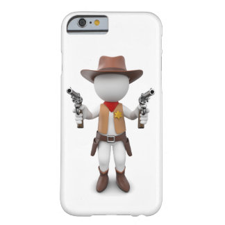 White Loui as sheriff Barely There iPhone 6 Case