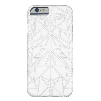 White Machaon Barely There iPhone 6 Case