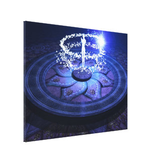 White Magic Canvas Print