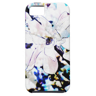 white magnolia blossom iPhone 5 cases