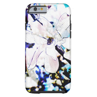 white magnolia blossom iPhone 6 case