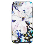 white magnolia blossom tough iPhone 6 case