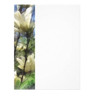 White Magnolia Branches Flyer
