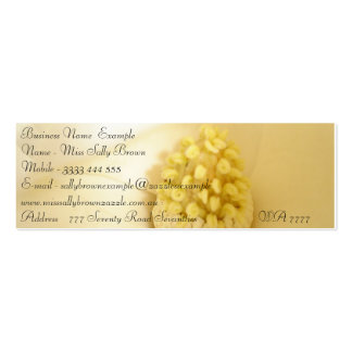 White magnolia business Cards