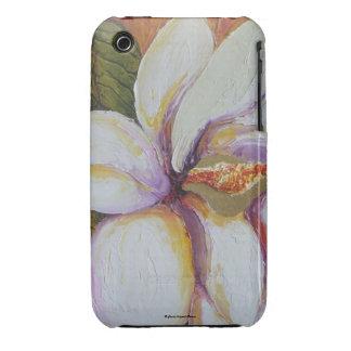 White Magnolia iPhone 3 Case