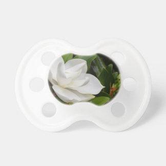 White Magnolia Pacifiers