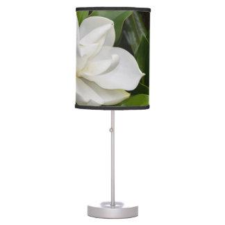 White Magnolia Table Lamp